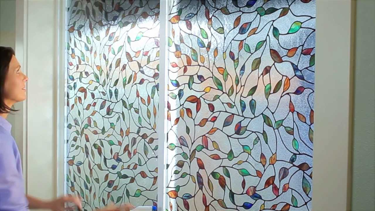 Amazing Decorative Window Film Ideas How to Apply Artscape Window Film - YouTube