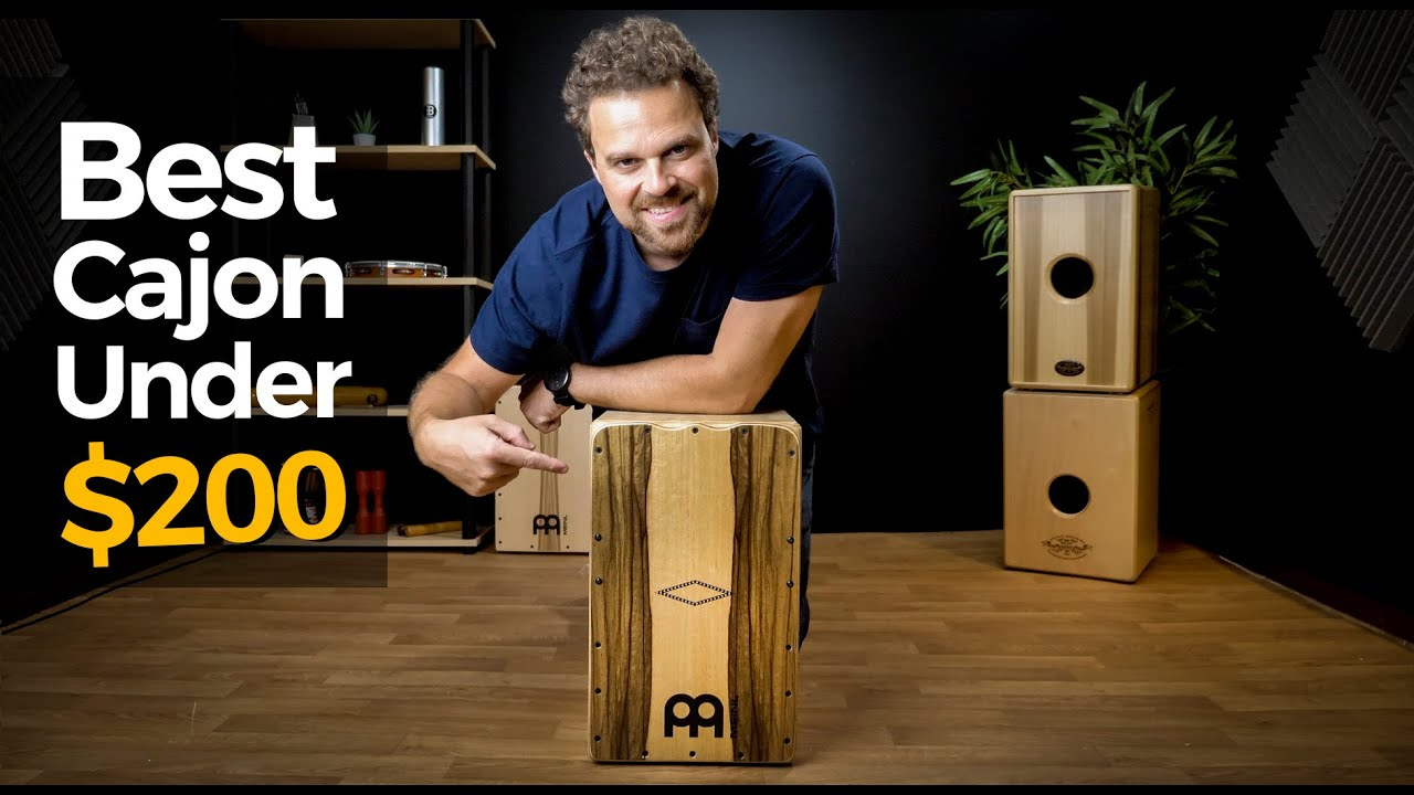 BEST Cajon for Under $200? - Meinl Artisan Tango Line - Unbox Play-test & Review