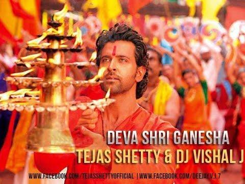 Deva Shree Ganesha -Tejas Shetty & Dj Vishal J Remix