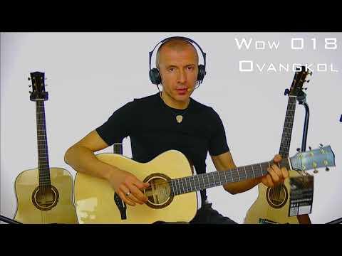 Comparazione Legni Fasce e Fondo nelle chitarre acustiche - Serie WOW