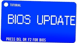 Tutorial: Bios Updaten
