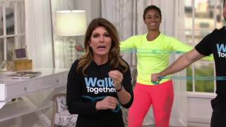 Leslie Sansone Miracle Miles 5 DVD Set with Sculpting Band & 3 Mile DVD on QVC