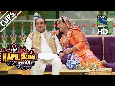 Begum Lucchi meets Rahat Fateh Ali Khan - The Kapil Sharma Show- Episode 18 -19th June 2016