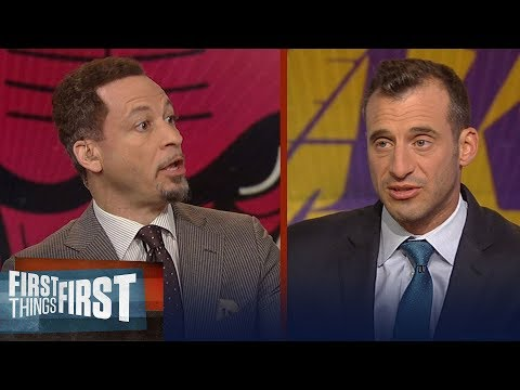 Chris Broussard on Kareem saying 'There's no such thing as the GOAT' | NBA | FIRST THINGS FIRST