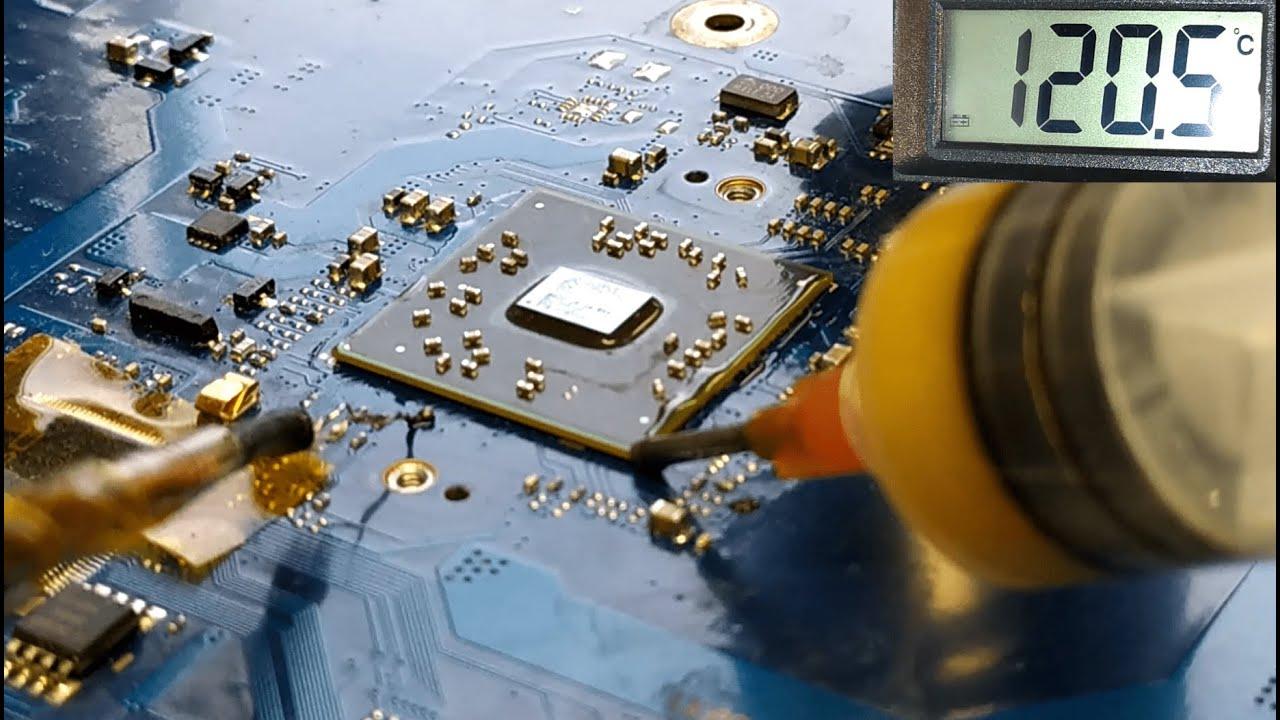 Laptop BGA Reballing