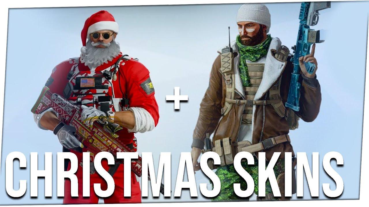 Rainbow Six Siege Christmas 2020 Christmas Skins + Legendary Buck Skin + Jager Skin *LEAKED