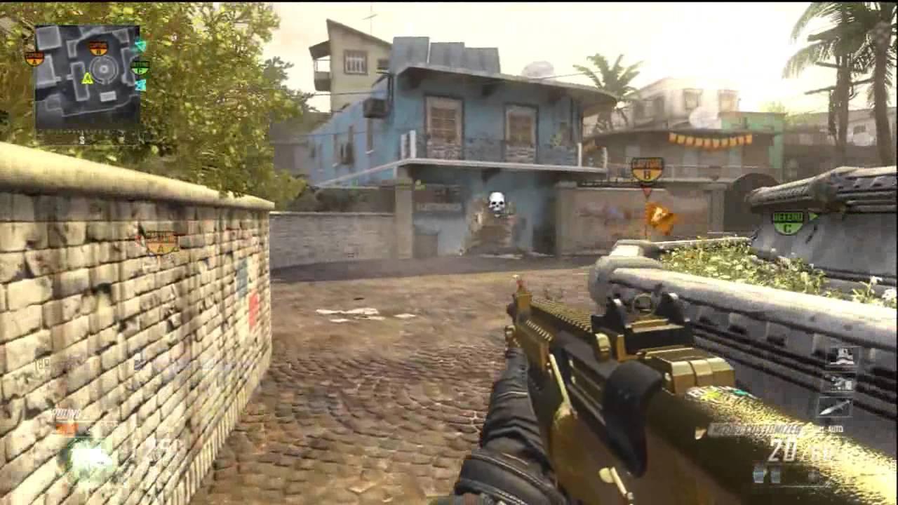 Black Ops 2 Gold Gun Episode 4 | M1216 - YouTube M1216 Gold