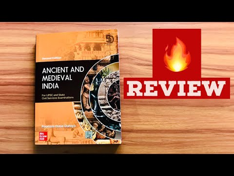 🔥Review Ancient and Medieval India by Poonam Dalal Dahiya Book Best for history for UPSC Aspirant
