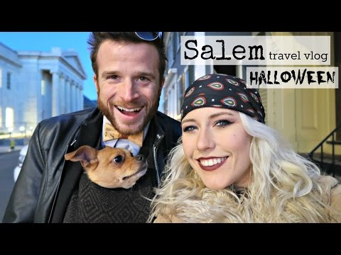 SALEM HALLOWEEN VLOG: FIRE EATERS//WITCH CIRCLE//HARRY POTTER