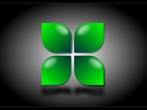 How to make a quick floral logo design - Corel Draw X7 Tutorial