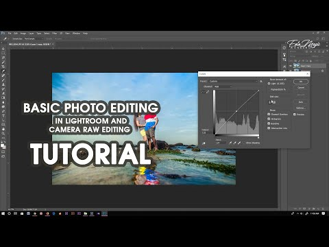 Basic photo editing in lightroom and camera raw Editing Tutorial thumbnail