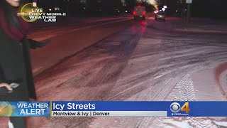 Bitter Cold Temperatures Greet Tuesday Morning Commuters