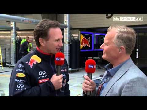 Horner defends Vettel blast (China 2014)
