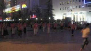 singing and dancing in Zhengzhou