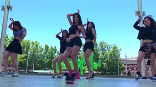 EXID(이엑스아이디)] L.I.E Dance Cover by 自由舞团