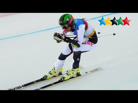 Alpine Skiing Ladie's Super G - 28th Winter Universiade 2017, Almaty, Kazakhstan