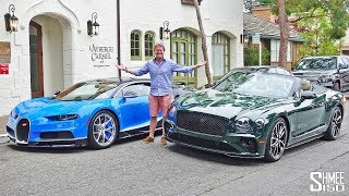 The New Bentley Continental GT Search for Hypercars!