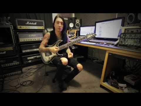 Black Veil Brides - Heart of Fire Guitar Lesson by: Jake Pitts