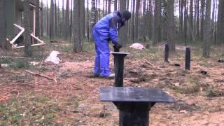 ленточный фундамент видео(, 2014-04-08T09:27:56.000Z)