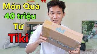 Lâm Vlog - Bất Ngờ Nhận Được Hộp Quà Trị Giá 40 triệu Từ Tiki | SamSung Galaxy S10