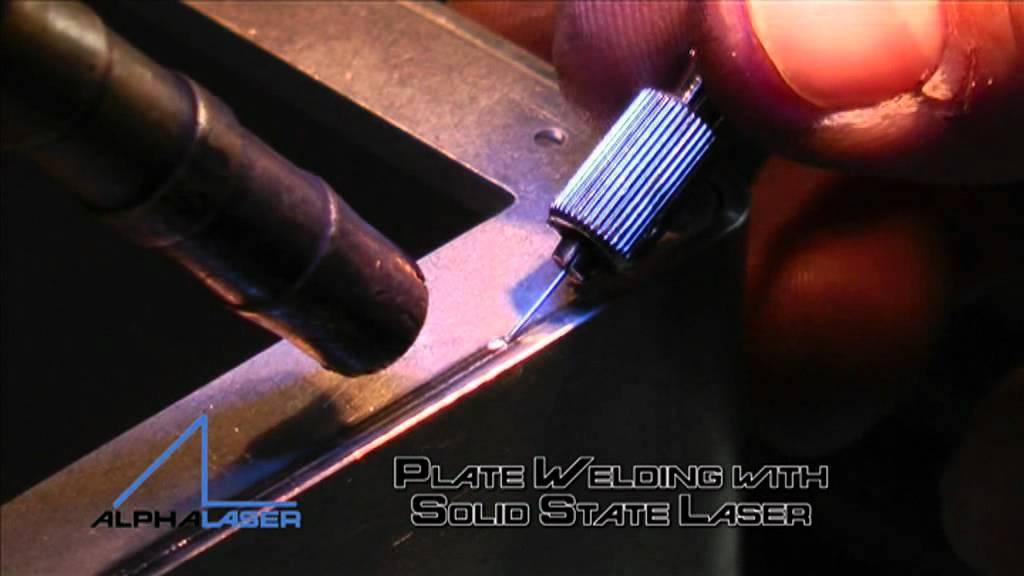 Laser Welding Steel Sheets Youtube