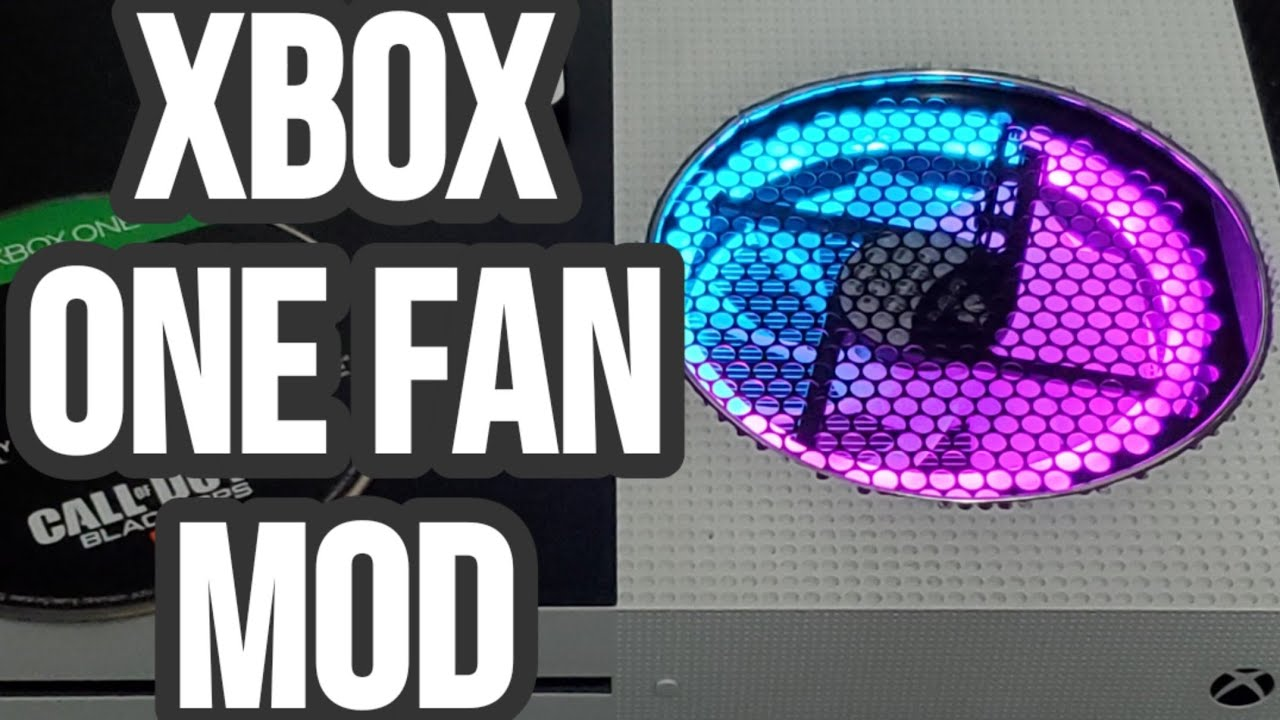 How To Replace Xbox One U0026 39 S Stock Fan With A Rgb Fan And