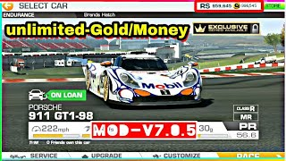 Gambar cover Download Real Racing 3 mod apk Unlimited Gold/Money Version-7.0.5