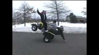 Long Island New York Motorcycle Stunts and Extreme Riders