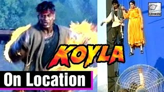 The Making Of The Movie Koyla | Madhuri Dixit, Shahrukh Khan