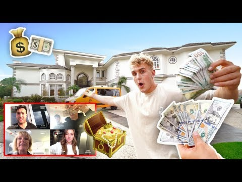 Thumbnail: $1,000 TREASURE HUNT IN TEAM 10 MANSION (INSANE)