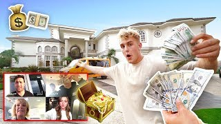 $1,000 TREASURE HUNT IN TEAM 10 MANSION (INSANE) thumbnail