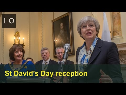 PM's speech at No10 St David's Day reception 2017