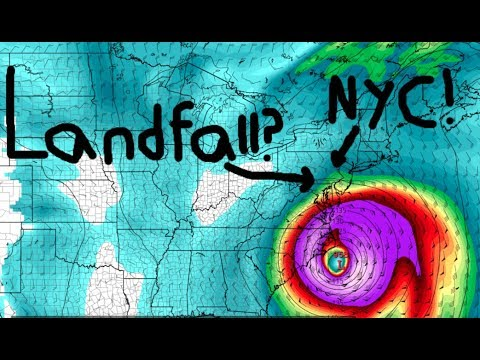 Large Hurricane Might Hit New York City (Only a possibility)