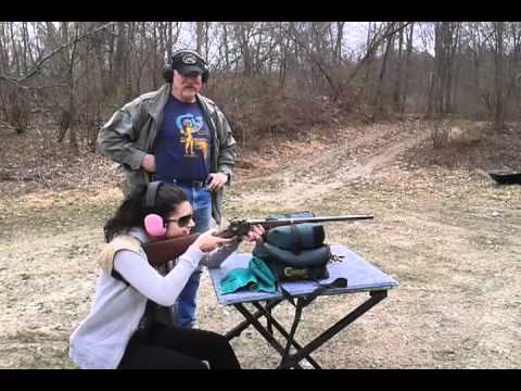 Civil War Sharps 50-70 In Action