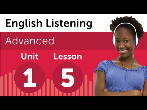 English Listening Comprehension - Preparing For an English Business Meeting