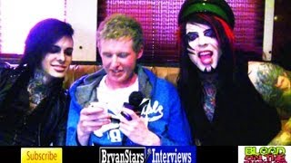 Blood On The Dance Floor Interview #2 Dahvie Vanity & Jayy Von Monroe 2012