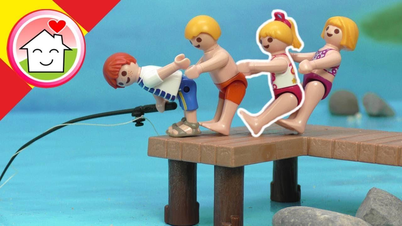 Playmobil en español Excursión escolar al lago - La Familia Hauser