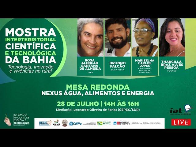 MOSTRA INTERTERRITORIAL CIENTIFICA E TECNOLÓGICA DA BAHIA | MESA 04