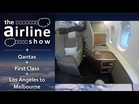 Qantas | First Class | A380 | Los Angeles - Melbourne
