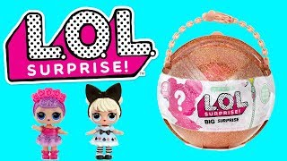 Video LOL Surprise Dolls Opening the Big Gold Ball with 50 Surprises download MP3, 3GP, MP4, WEBM, AVI, FLV Agustus 2018