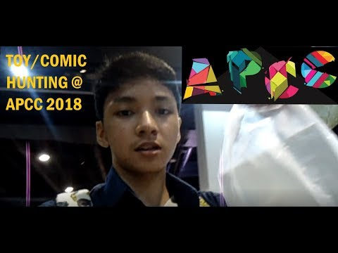 TOY/COMIC HUNTING VLOG @ AsiaPop Comicon (APCC) 2018