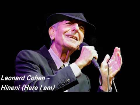 Leonard Cohen  & Yossele Rosenblatt - Hineni