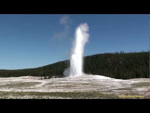 Old Faithful & Beehive Geysers - Yellowstone National Park