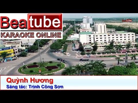 Karaoke Quỳnh Hương - Trịnh Công Sơn | Beatube Karaoke
