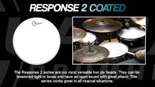 Response 2 Coated Drumheads