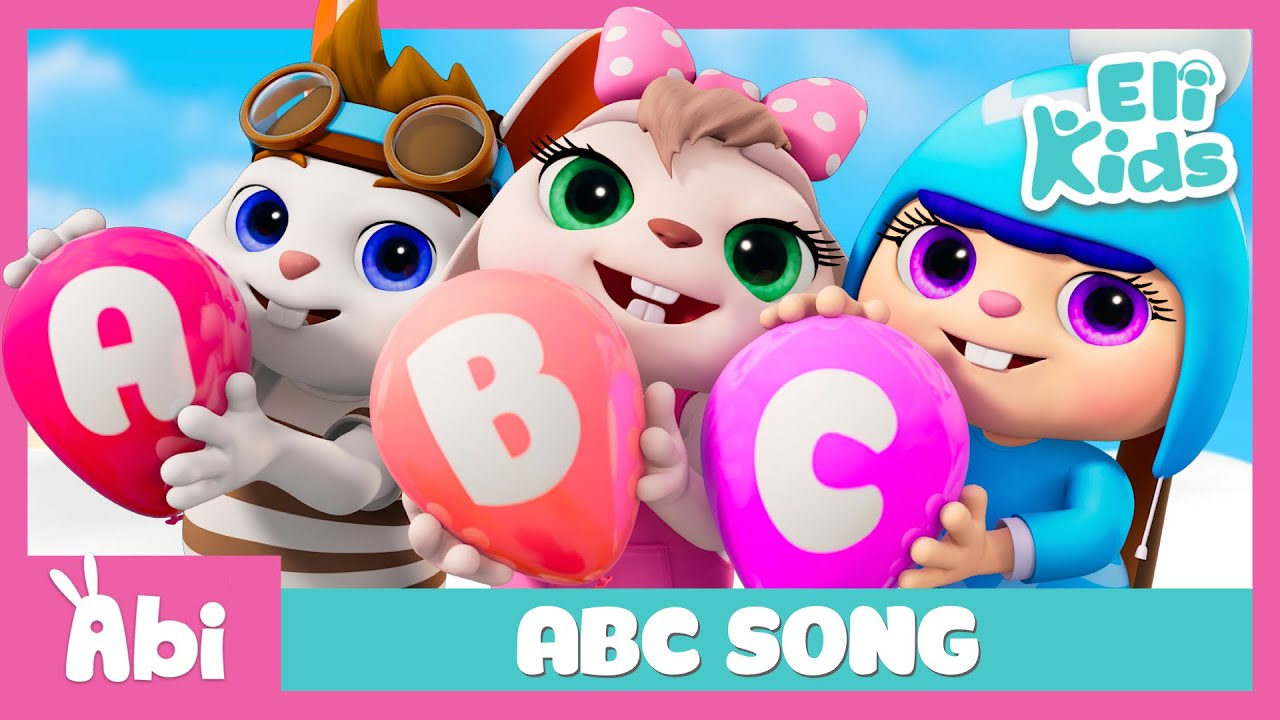 ABC Song | Alphabet Learning | Eli Kids Songs & Nursery Rhymes