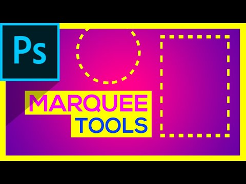 ✔ Marquee Tools Photoshop   Complete Guide    Part One   Photoshop Tutorial   Artma