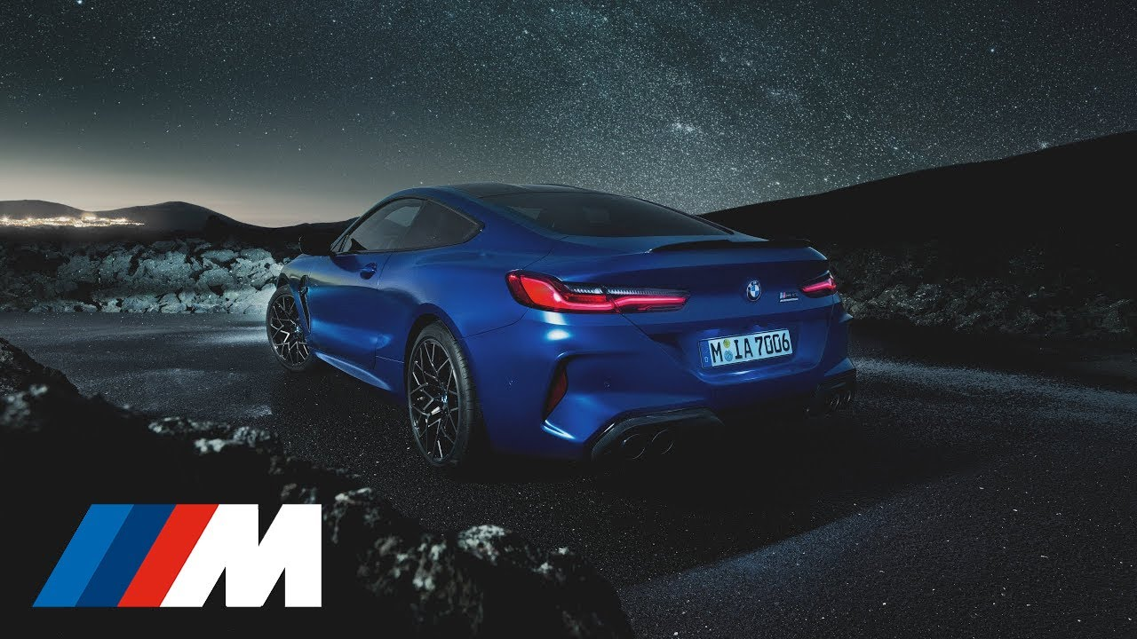 The first-ever BMW M8 Coupé