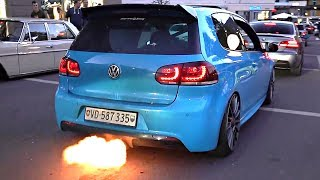 BEST of Anti-Lag, Exhaust Flames, Pops, Crackles & Backfire Sounds 💥 🔥 | Happy New Year!