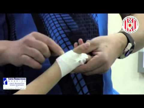vendaje funcional dedo pulgar